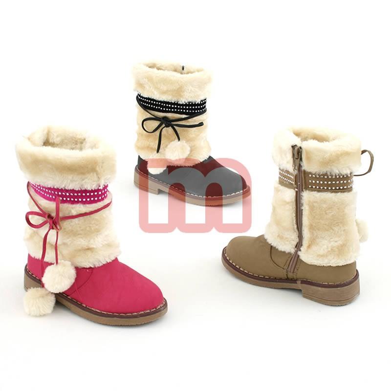 8d35883e4de82b Mädchen Fell Stiefel Schuhe Gr. 25-30 je 10