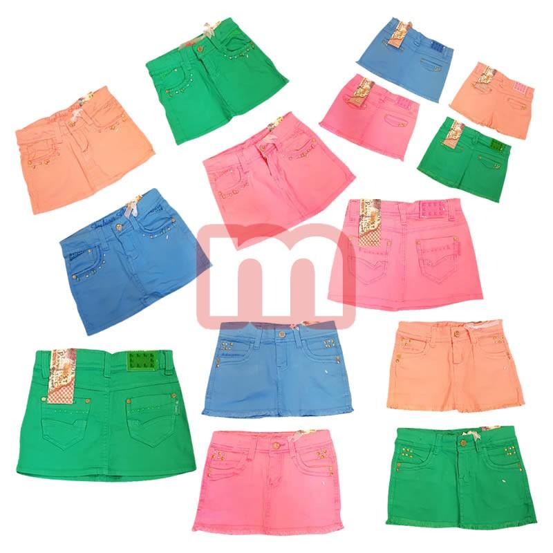 Kinder Mädchen Sommer Rock kurze Hose für 4-12 J. je 4,50 EUR ... 13b7621cb9