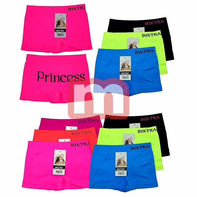 kinder m dchen seamless boxer shorts slips mix gr 4 14. Black Bedroom Furniture Sets. Home Design Ideas
