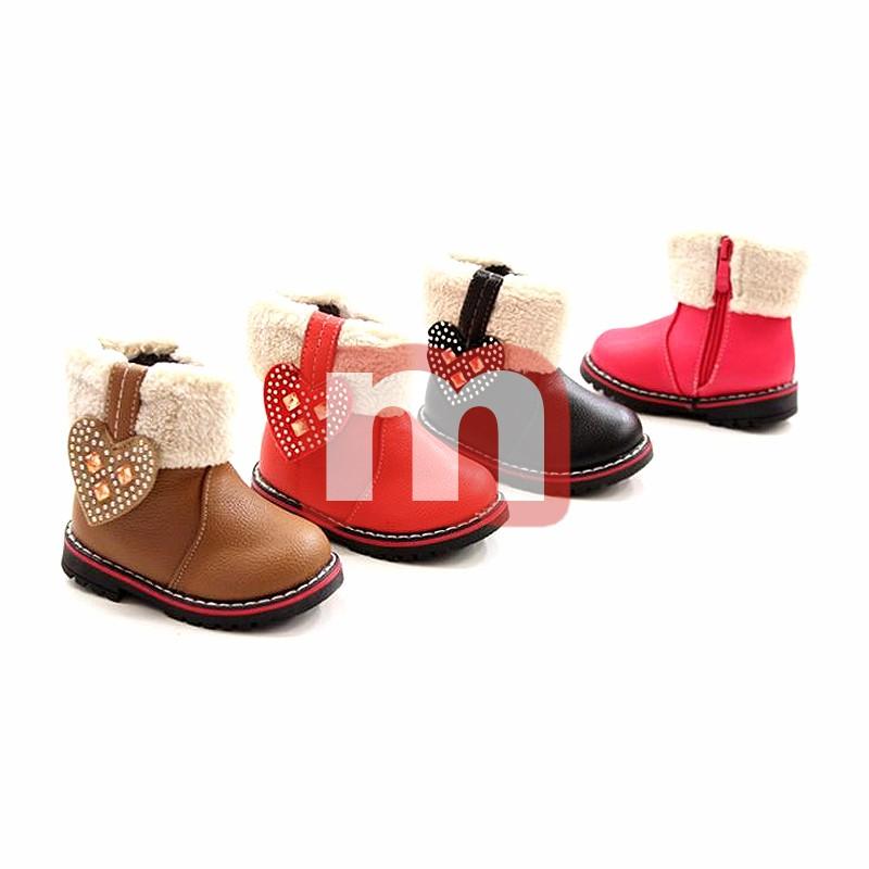 48fb9f2f55613a Kinder Herbst Winter Fell Stiefel Boots Gr. 20-25 je 7